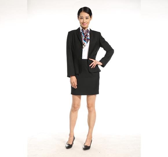 重庆女士西装套裙(黑色)万博mantex官网