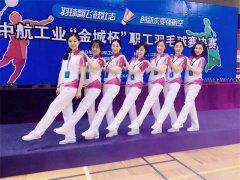 中国航空工业集团职工羽毛球比赛团体运动服装万博mantex官网案例